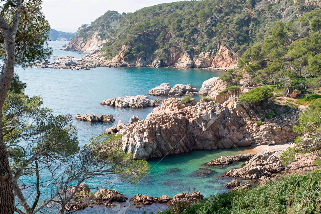 Landscapes And Details Of The Coast Brave Costa Brava In Girona Stock Photo Picture And Royalty Free Image Image 74512063