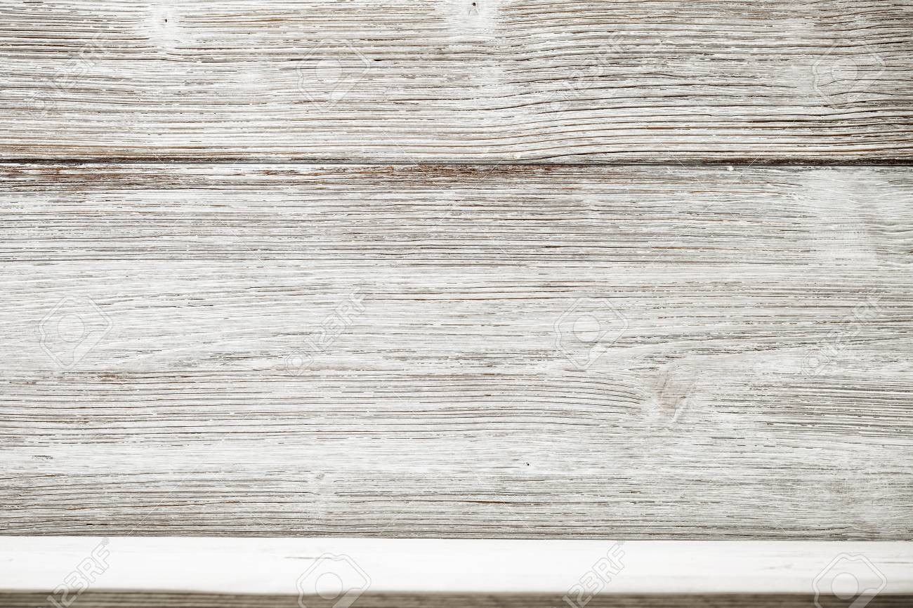 White rustic wooden textured  Wooden background