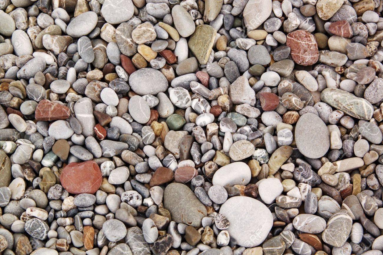 Beach pebbles background Stock Photo - 10494802