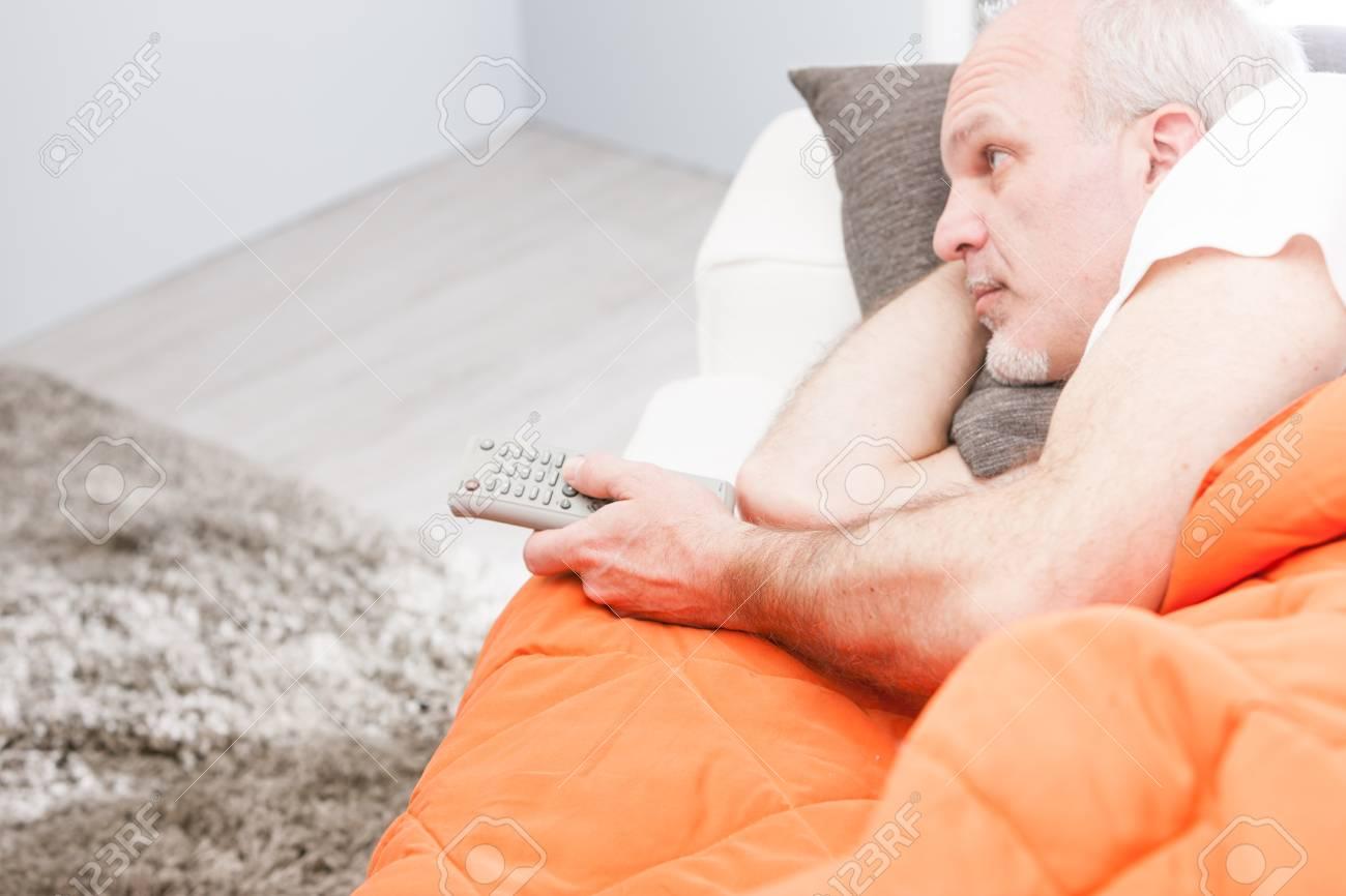 Resultado de imagem para guy watching tv in pijamas