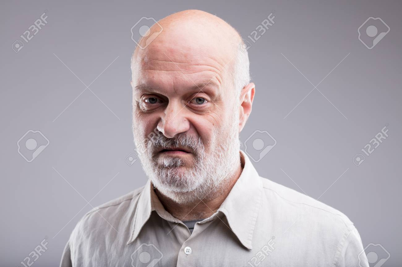 that s not good at all says this old bald man disgusted and