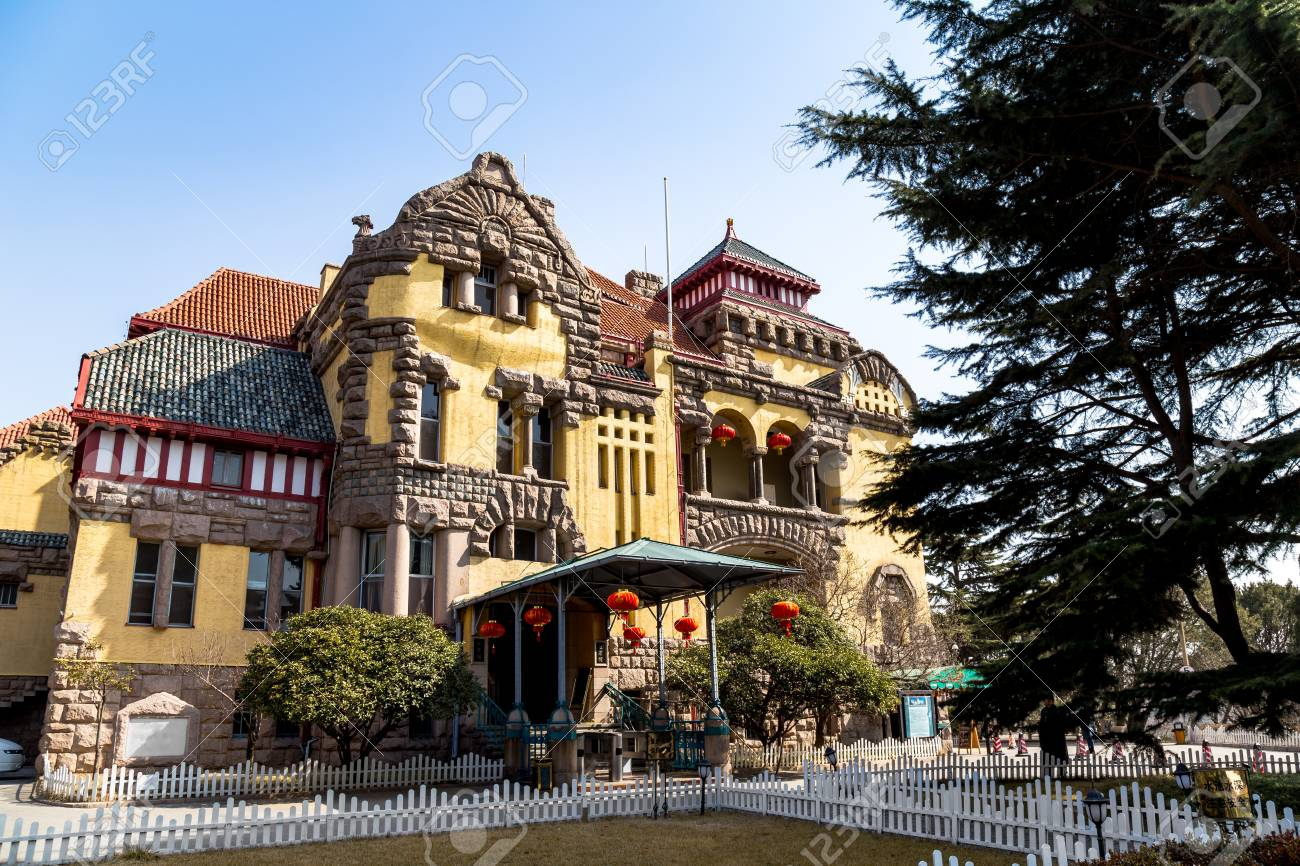 The Old Governors House From German Colonial Was In Qingdao