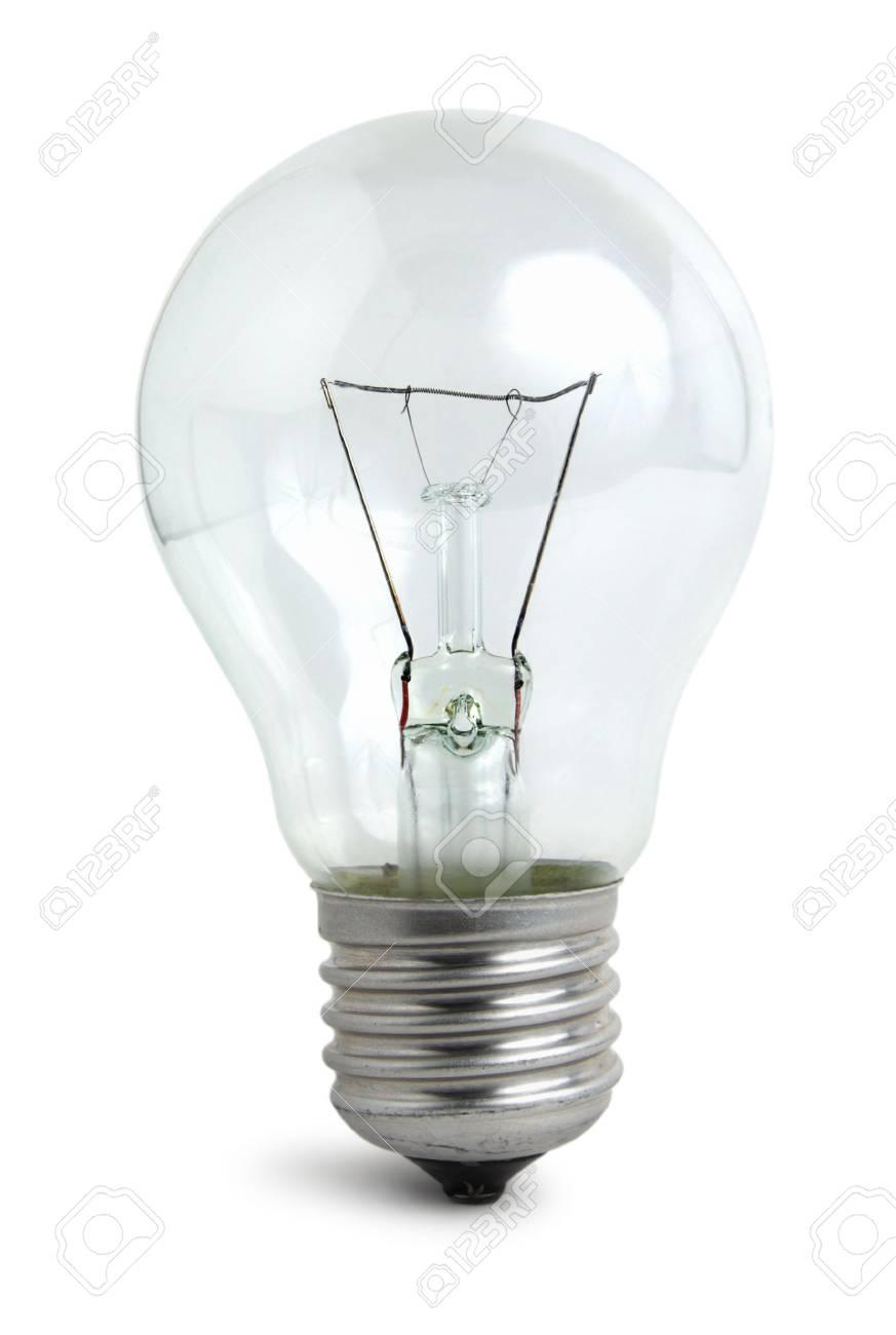 A light bulb on white background. Stock Photo - 6637185
