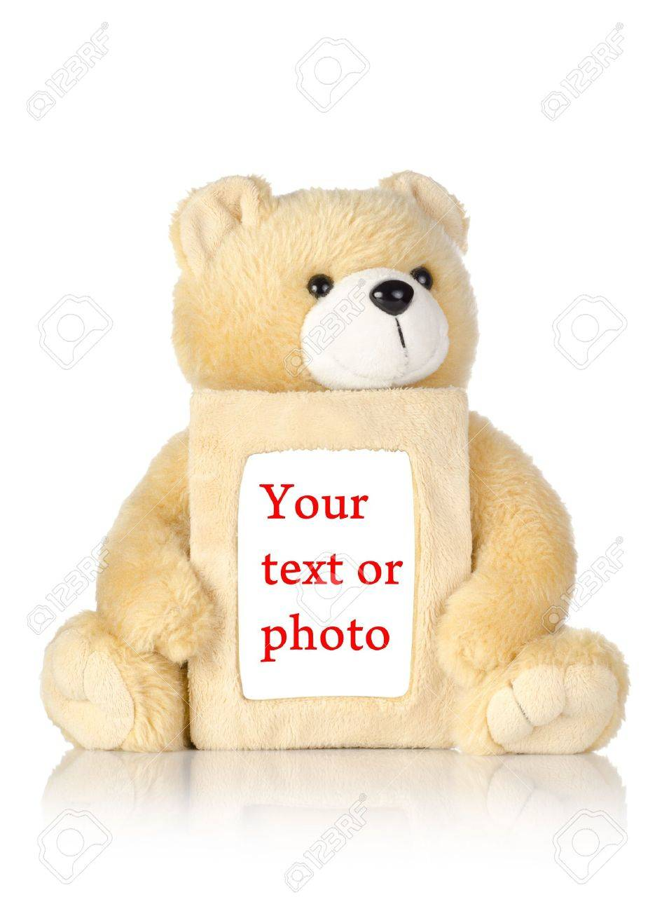 Teddy Bear With Photo Frame Stock Photo Picture And Royalty Free