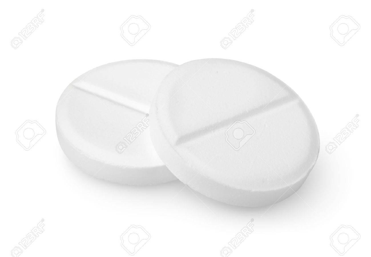 Two tablets aspirin Path - 10368514