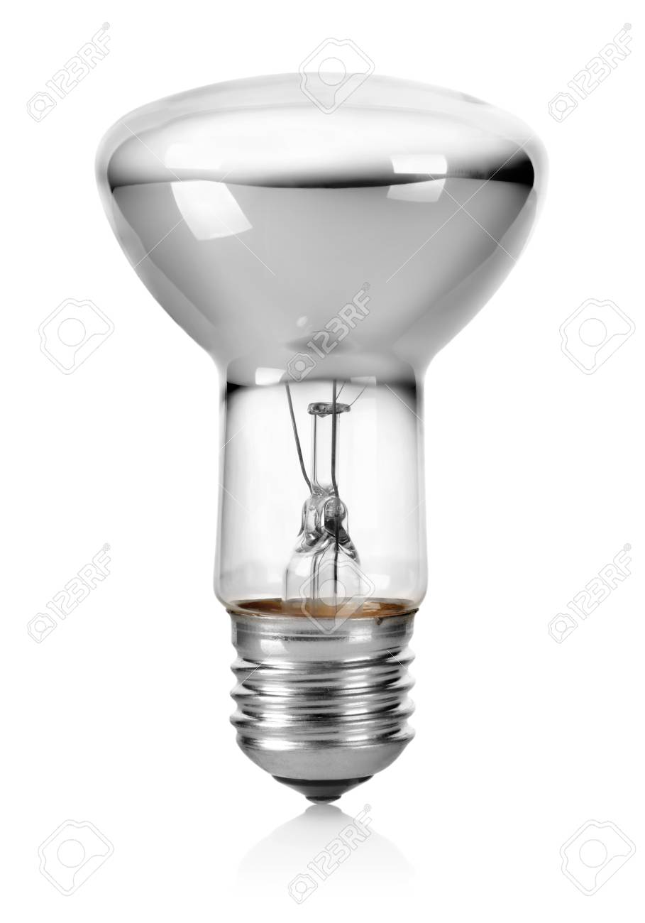 White light bulb Stock Photo - 17714768