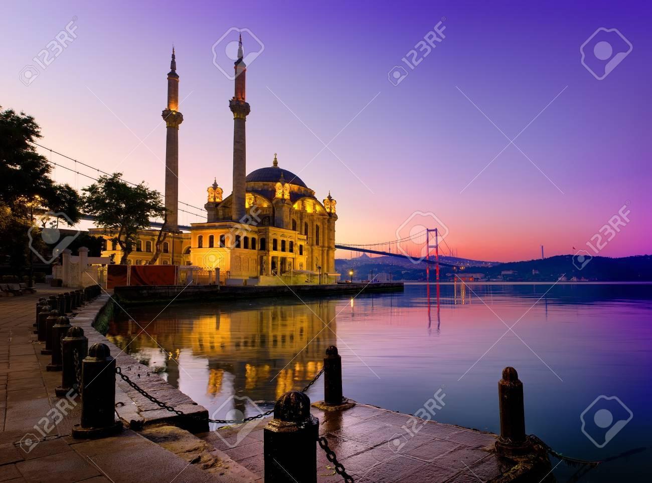 Ortakoy Mosque in Istanbul - 81232396