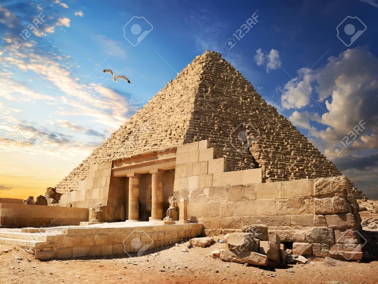 Pyramid near Giza - 93858129