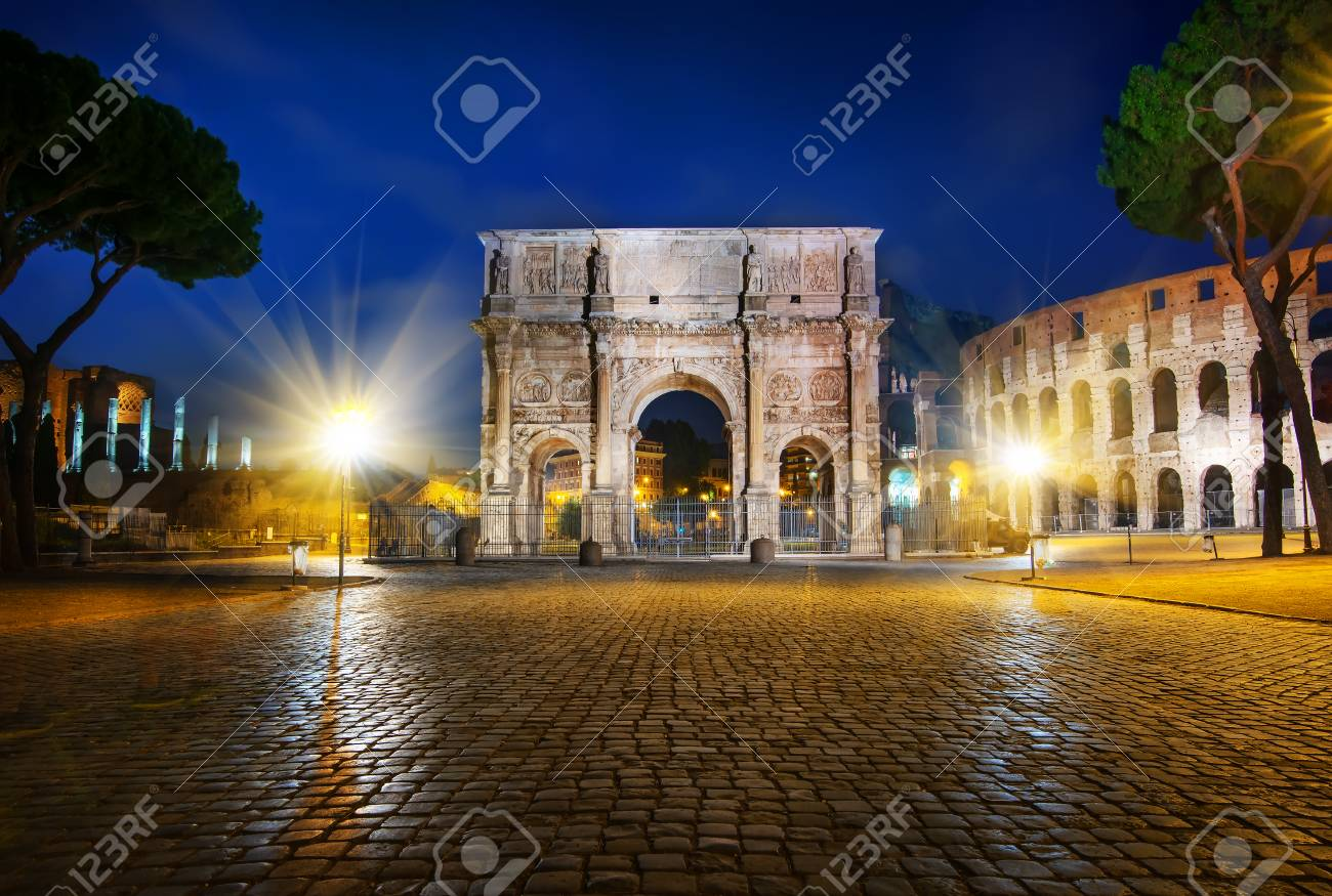 Arch of Constantine - 117962724