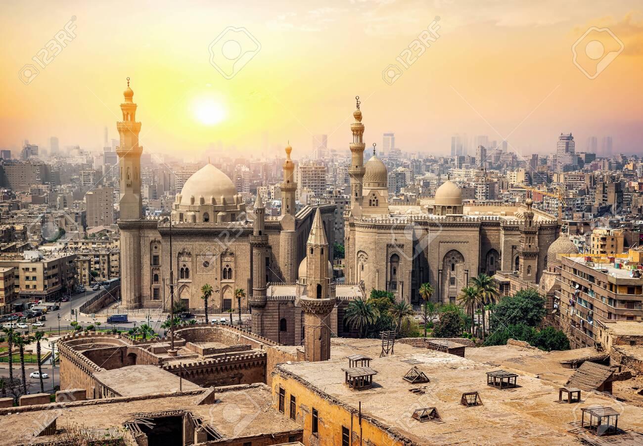 Mosque Sultan in Cairo - 123321221