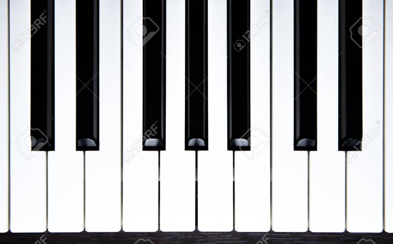 piano keys-top view