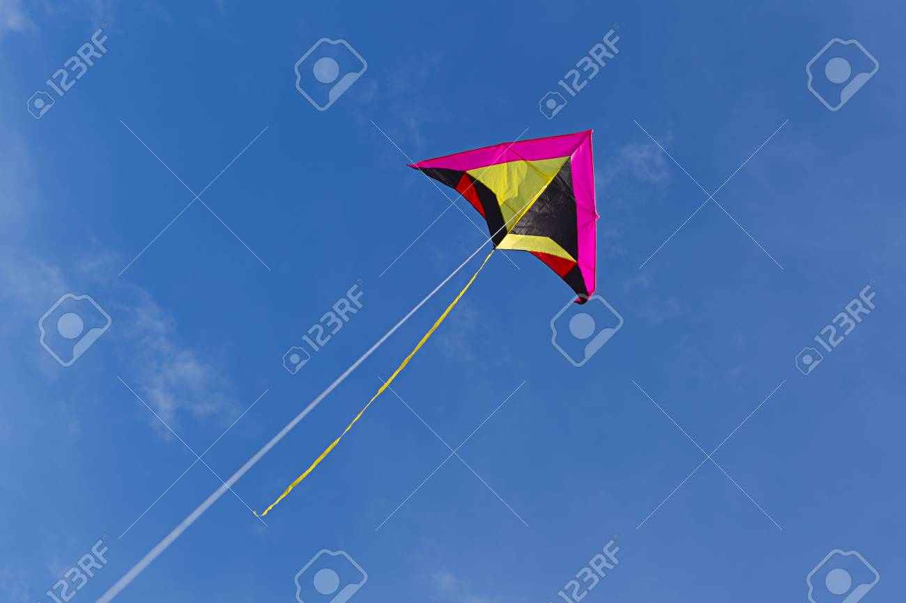 Flying a kite up high. - 39040251
