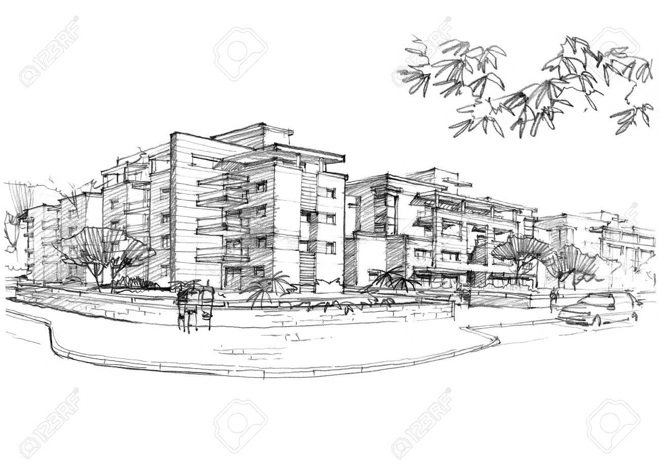 urban area in a residential area. - 54890361