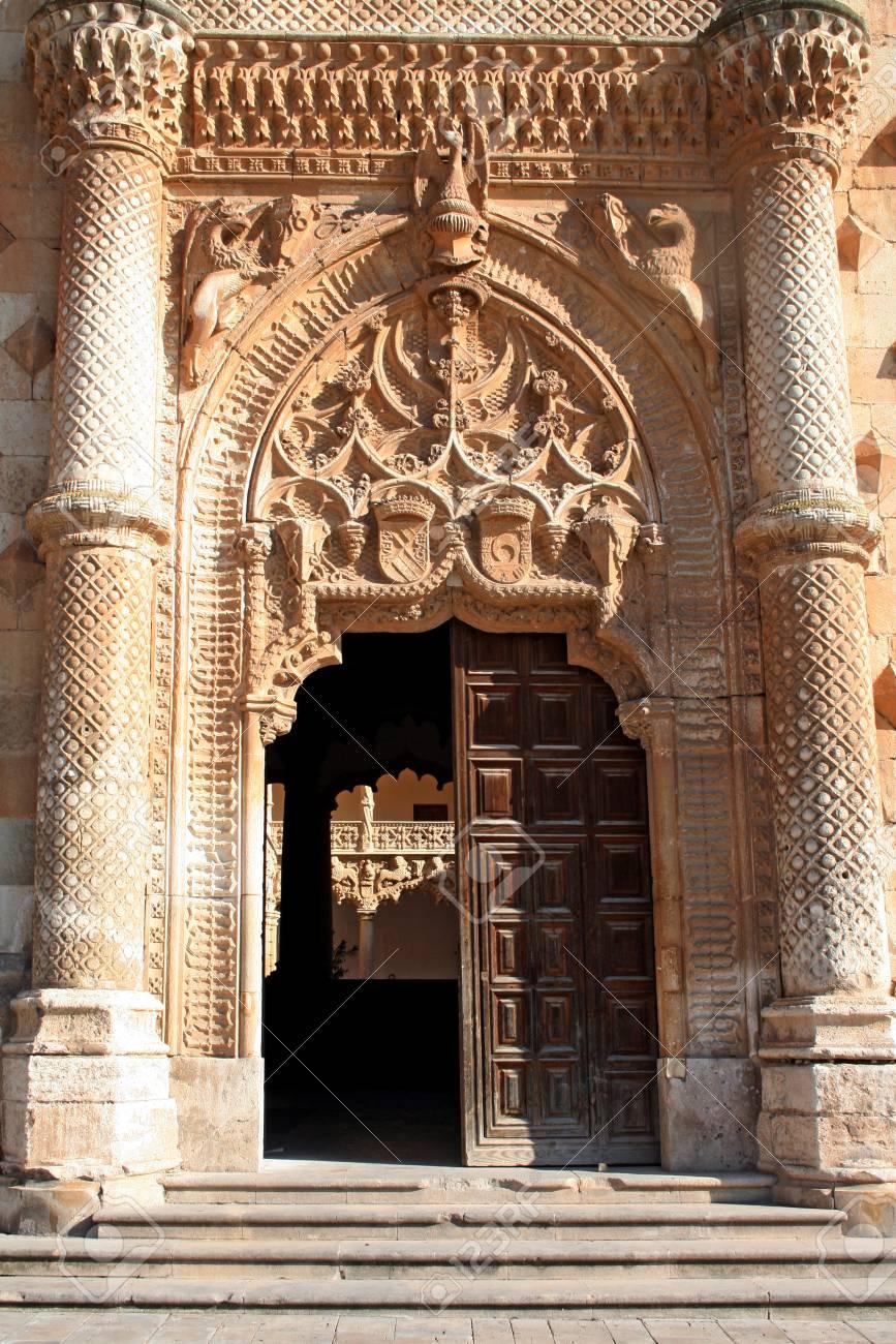 Doors of palace in Guadalajara Stock Photo - 14146968
