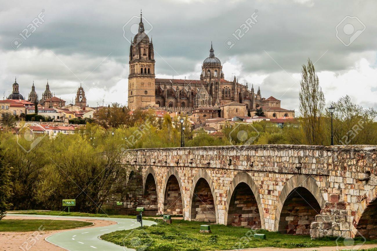 Resultado de imagen de puente romano salamanca