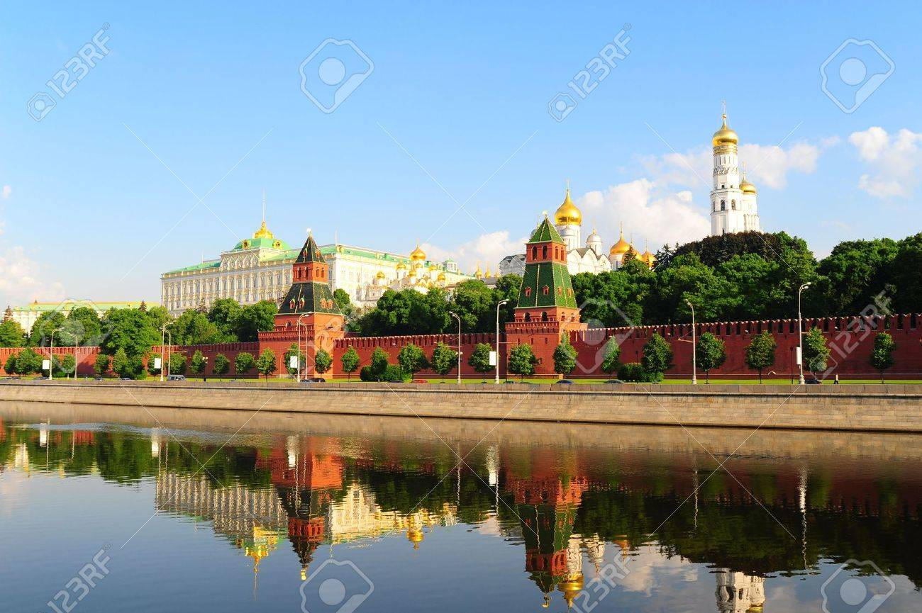 View From Moscow-river On Kremlin Stock Photo - 5363671