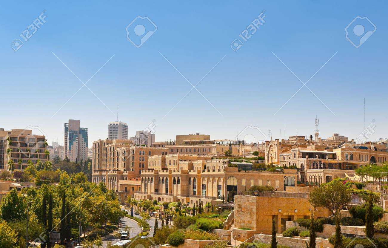 View to the Ancient Street of Jerusalem Stock Photo - 14333620