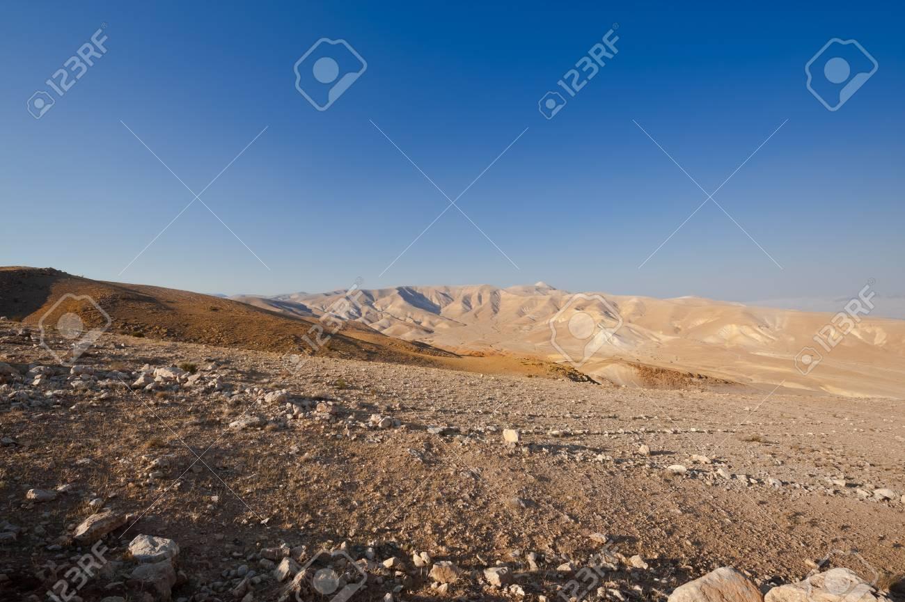 Big Stones in Sand Hills of Samaria, Israel Stock Photo - 15032555