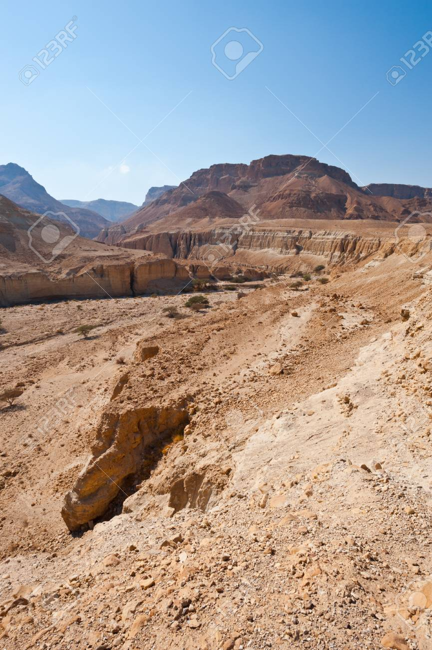 Big Stones in Sand Hills of Samaria, Israel Stock Photo - 15607294