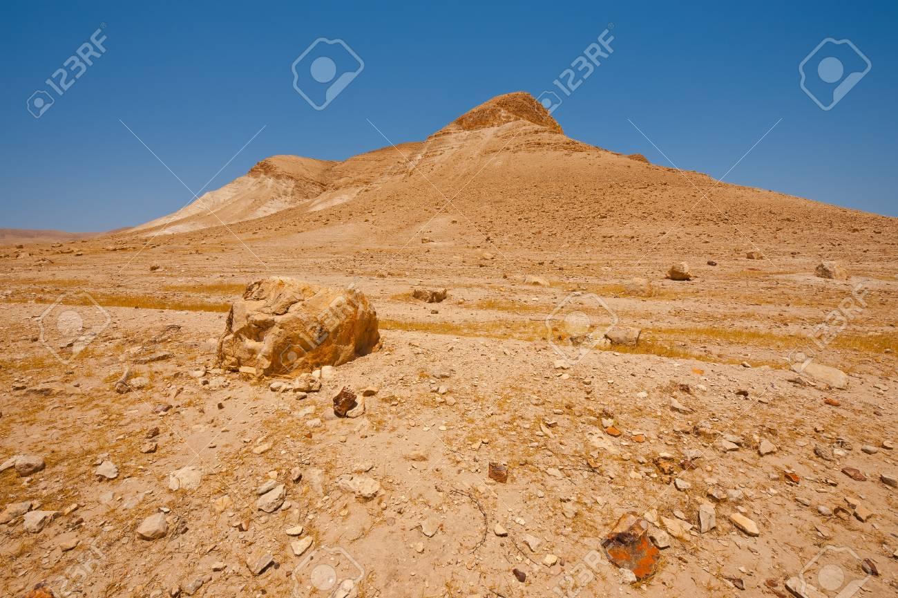 Big Stones in Sand Hills of Samaria, Israel Stock Photo - 16990591
