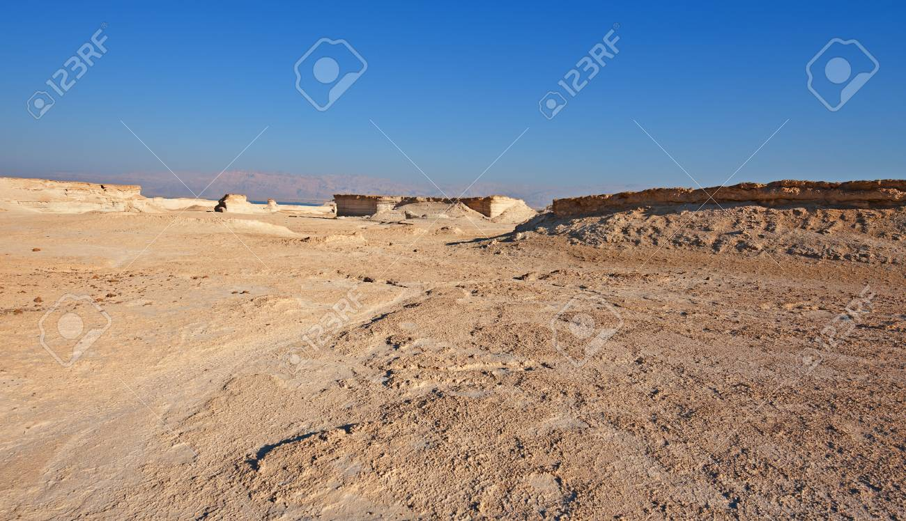 Canyon in the Judean Desert on the West Bank Stock Photo - 17174097