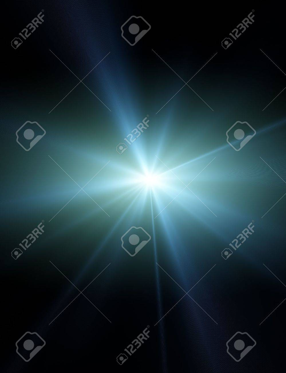 flare with rays Stock Photo - 9943934
