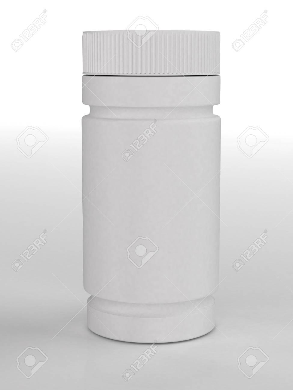 Bottle for tablets Stock Photo - 10115246