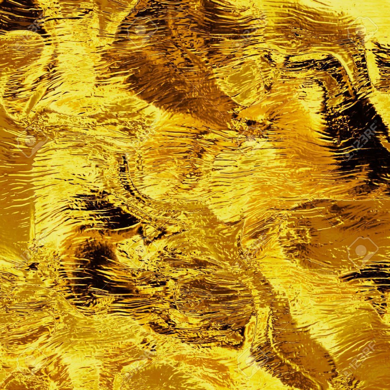 gold foil Stock Photo - 10018022