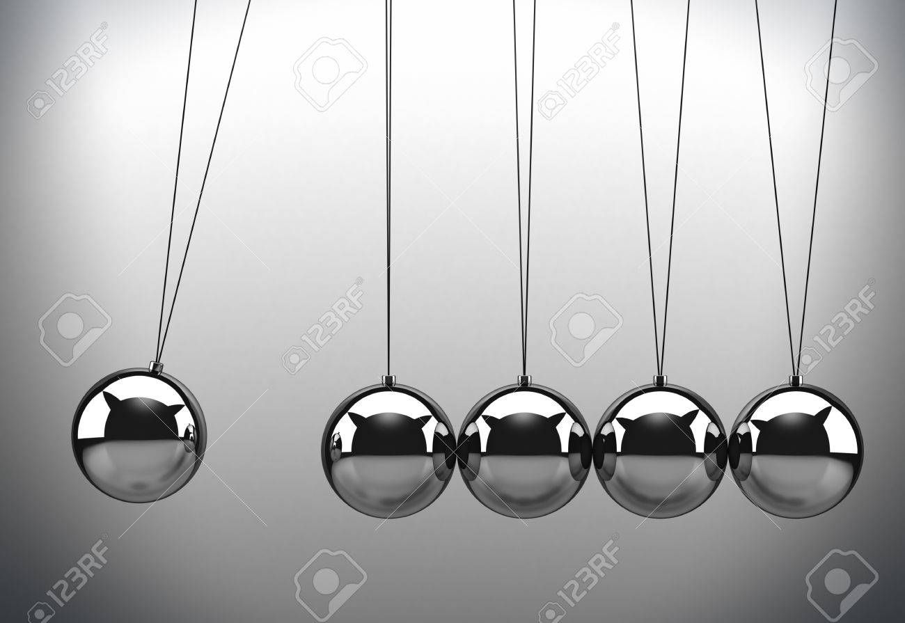 Newton cradle Stock Photo - 10766968