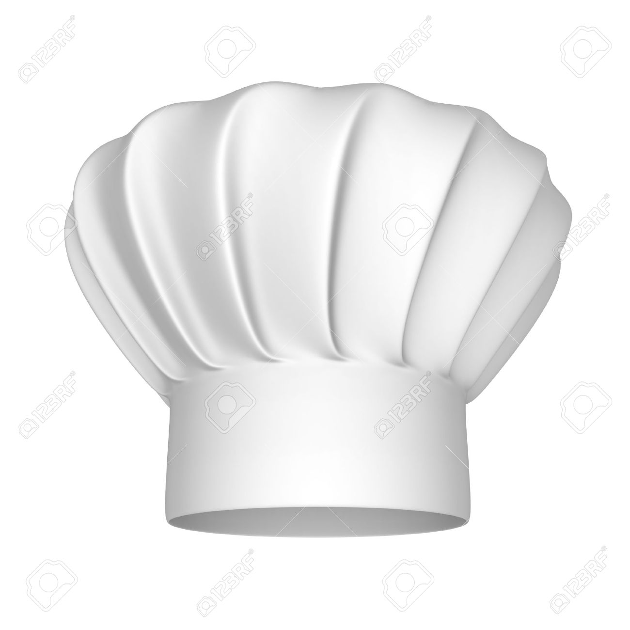 Chef hat - isolated on a white background - 17106438