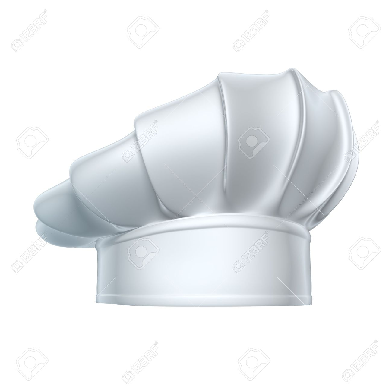 Chef hat - isolated on white background - 20664308
