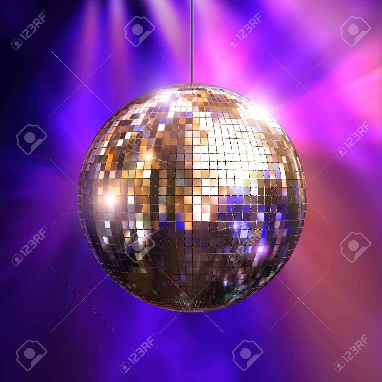 Immagini Palla Da Discoteca.Partito Luci Palla Da Discoteca Illustrazione 3d