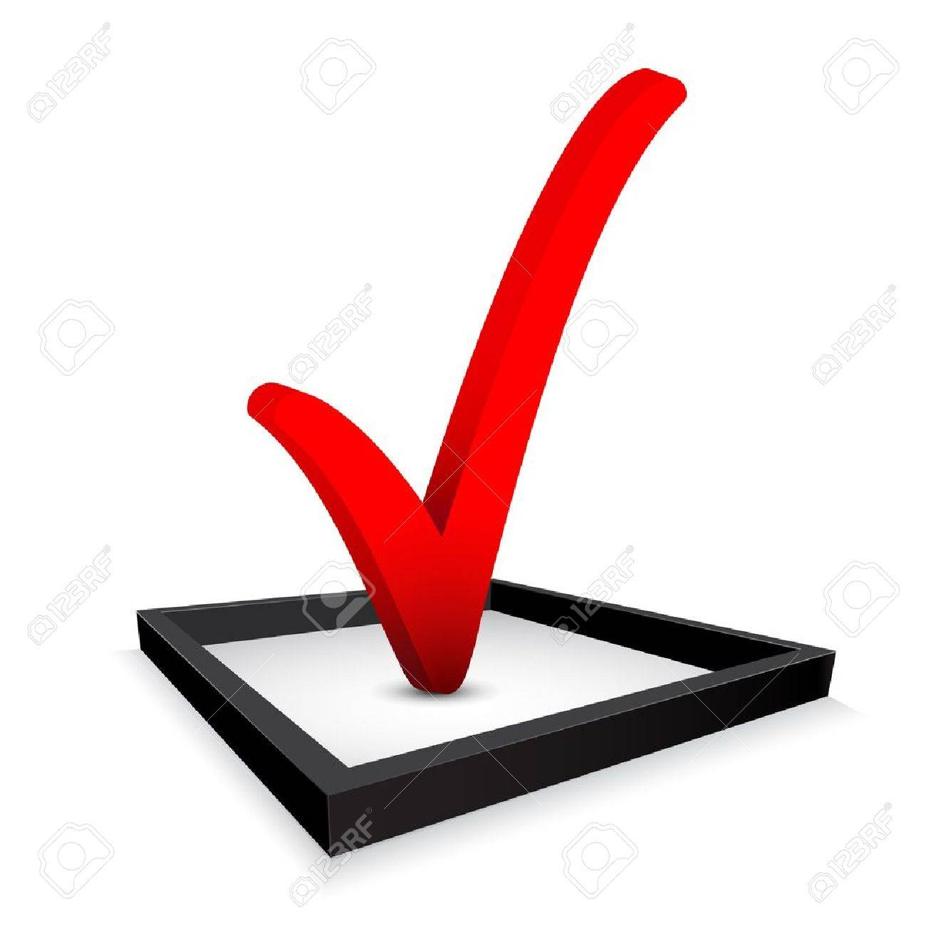 Red check mark in option box royalty free cliparts vectors and red check mark in option box stock vector 14584251 biocorpaavc Image collections