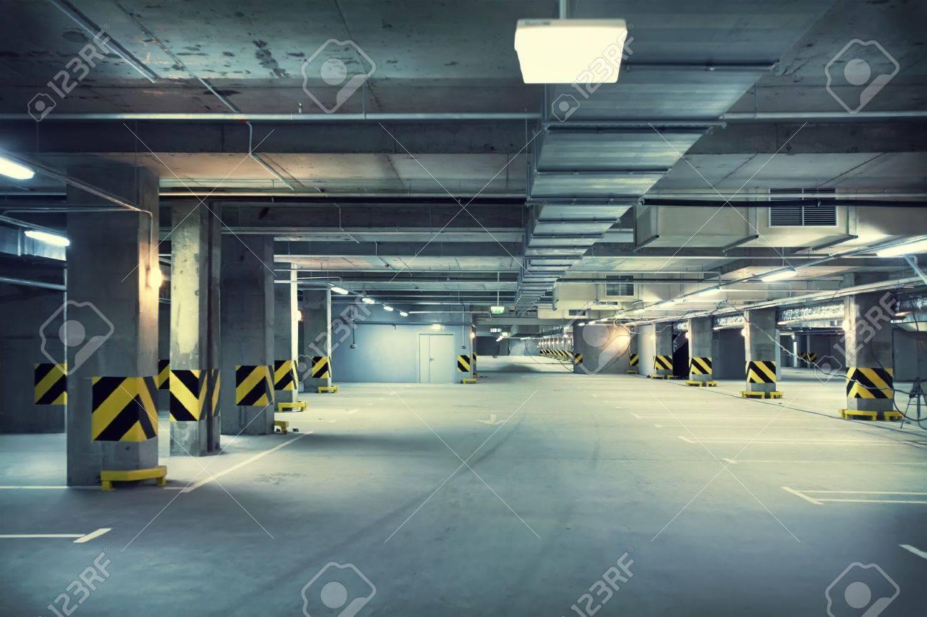Underground parking  Stock Photo - 12018938