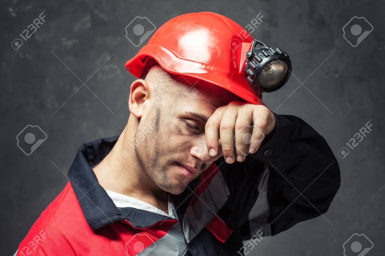 Image result for images for a dirty tired coal miner