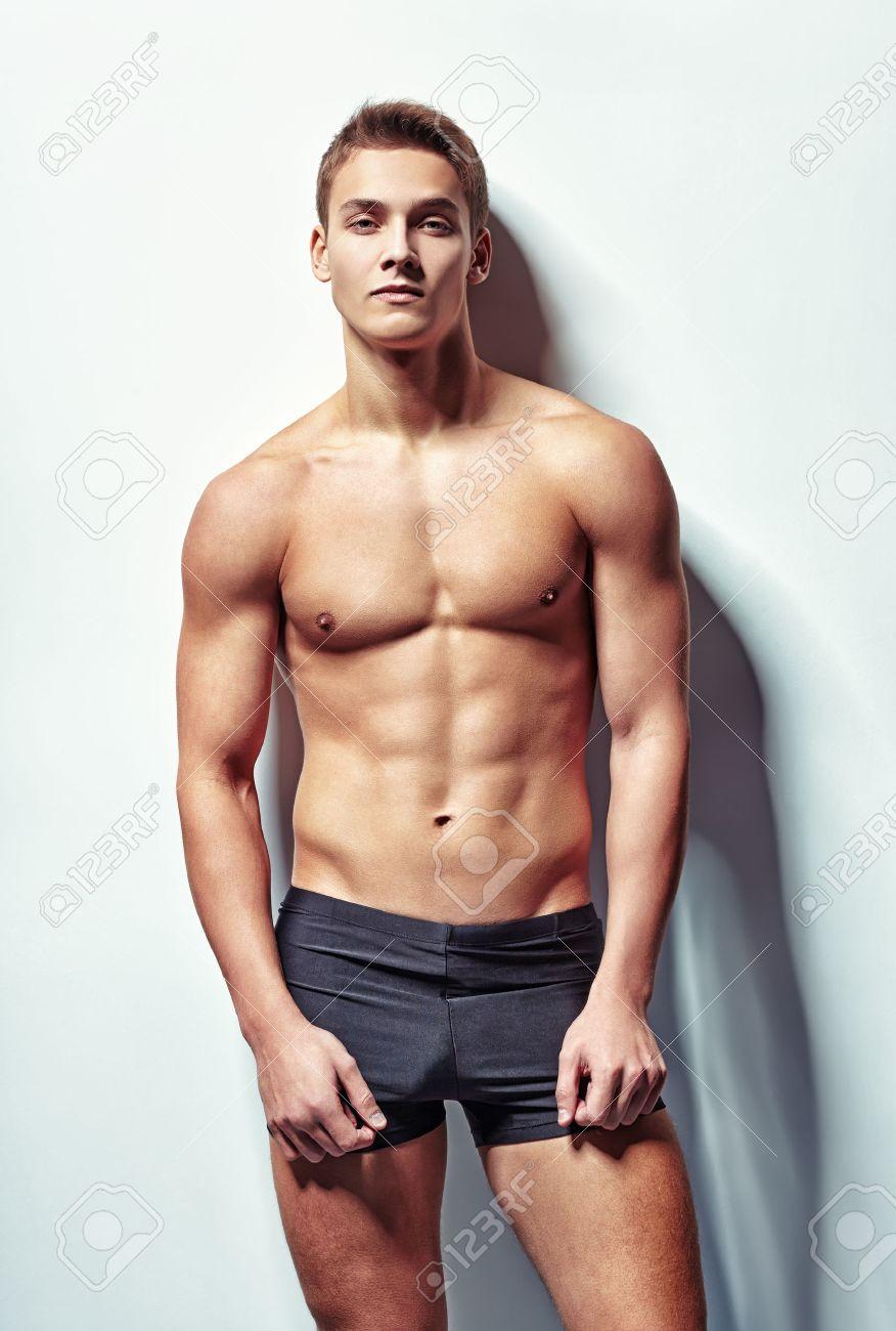 Sexy muscle man photo