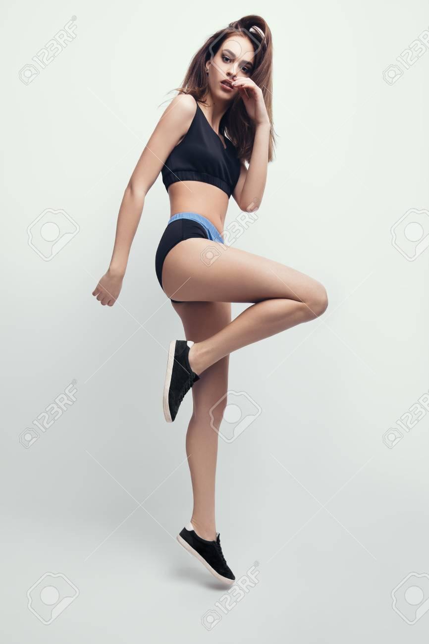Girl Dancing In Panties