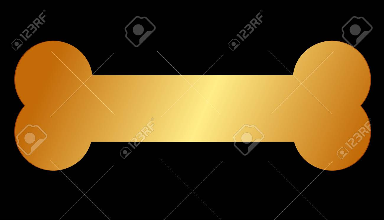 Vector illustration of gold bone for dog royalty free cliparts vector illustration of gold bone for dog stock vector 40731803 buycottarizona Image collections