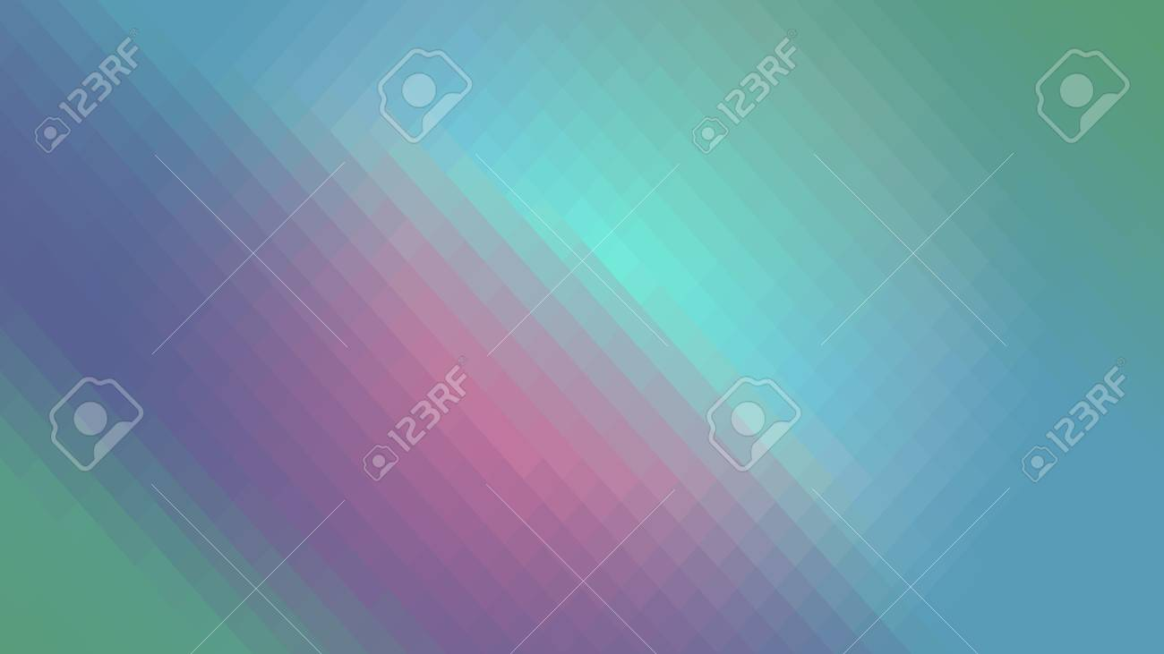 Wallpaper Background Pink Blue Green Gradient In Polygonal Rhombuses