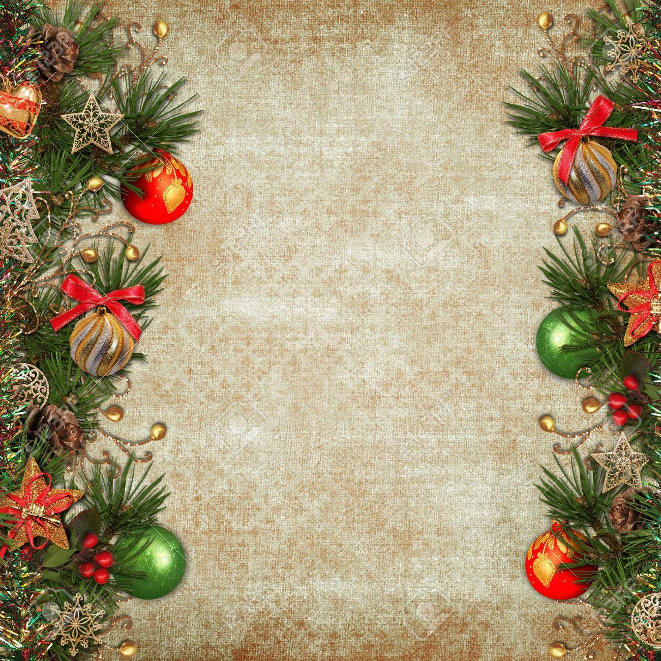Free Christmas Background.Vintage Christmas Background