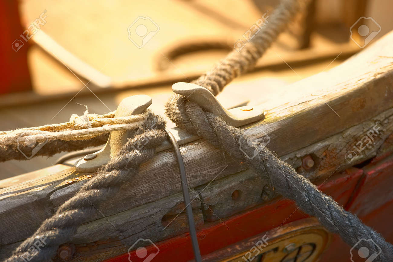 A photo of details of a boat Stock Photo - 2097182