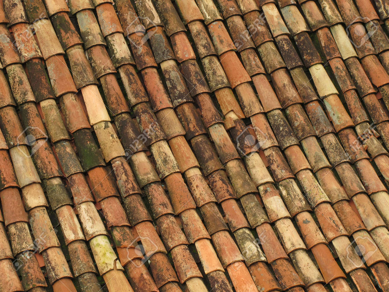 Roof ceramic tiles artstation pbr procedural ceramic roof old red roof tiles from spain stock photo 6335175 dailygadgetfo Images