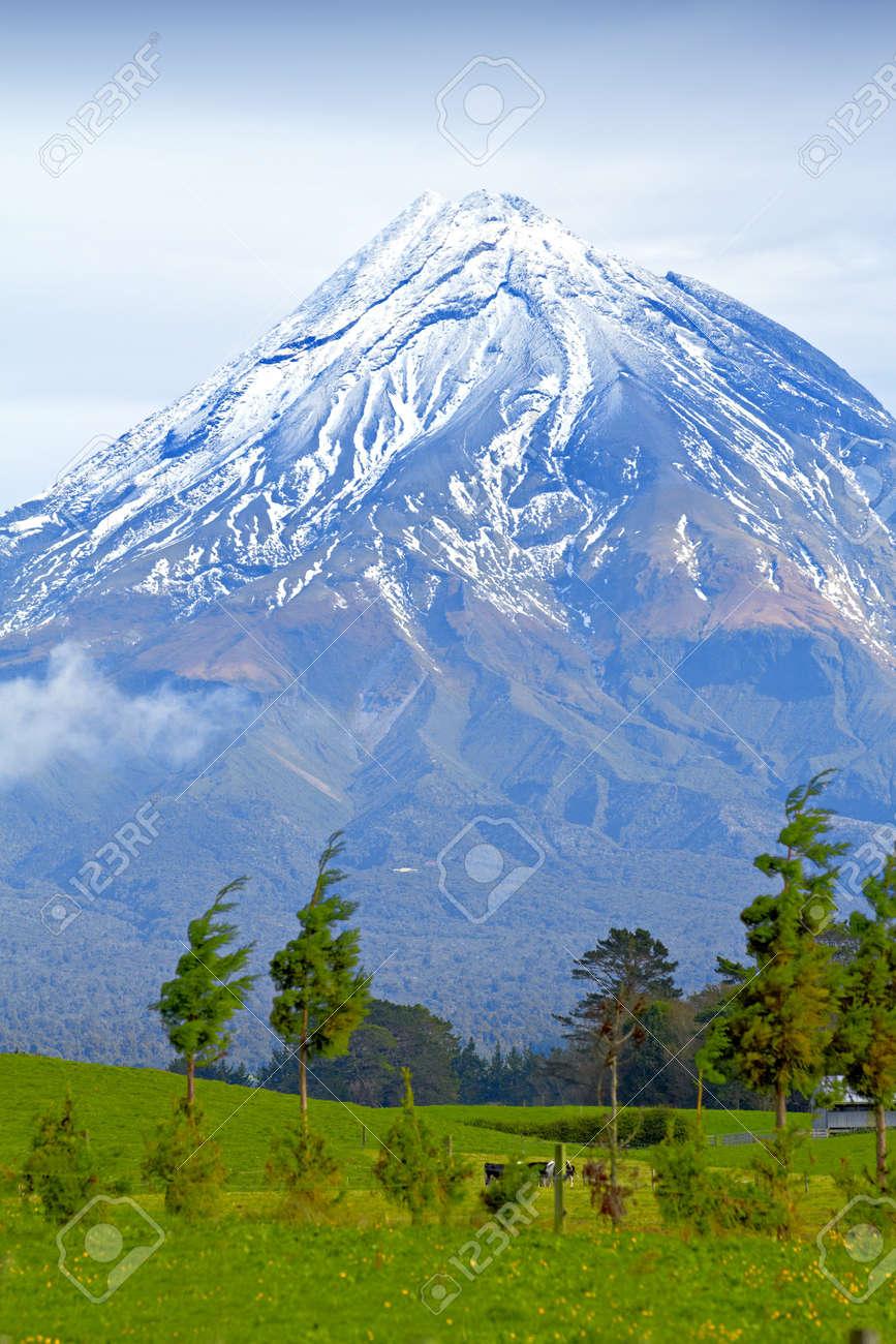 A photo a huge Volcano - New Zealand Stock Photo - 10722102
