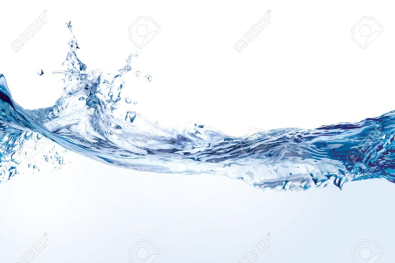 Water splash. Close-up of water splash against white background Stock Photo - 4490278
