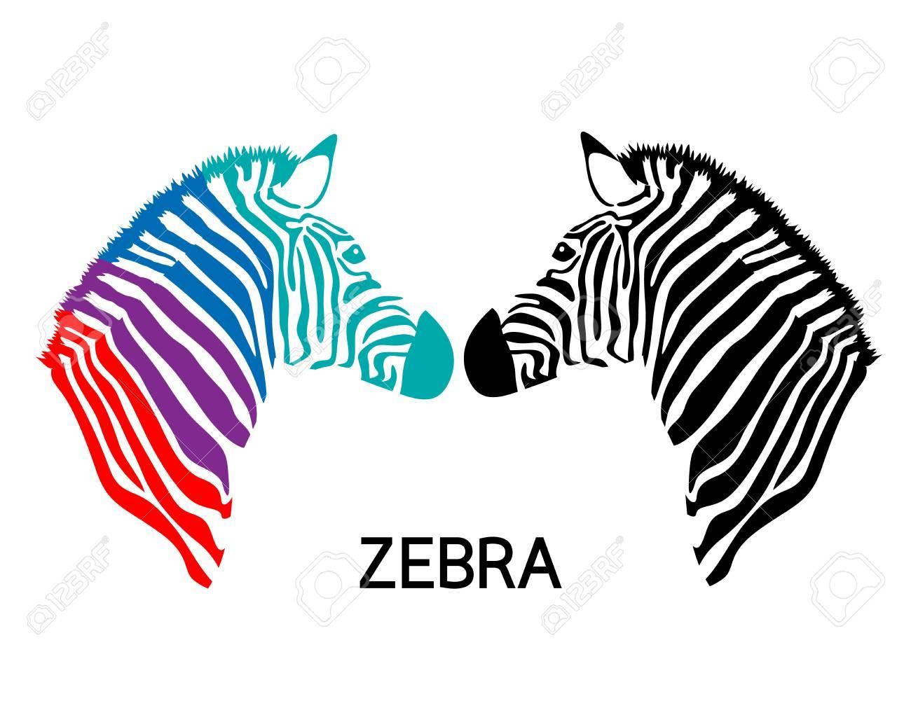 Great Zebra Head Template Images Gallery >> Cardboard Safari ...