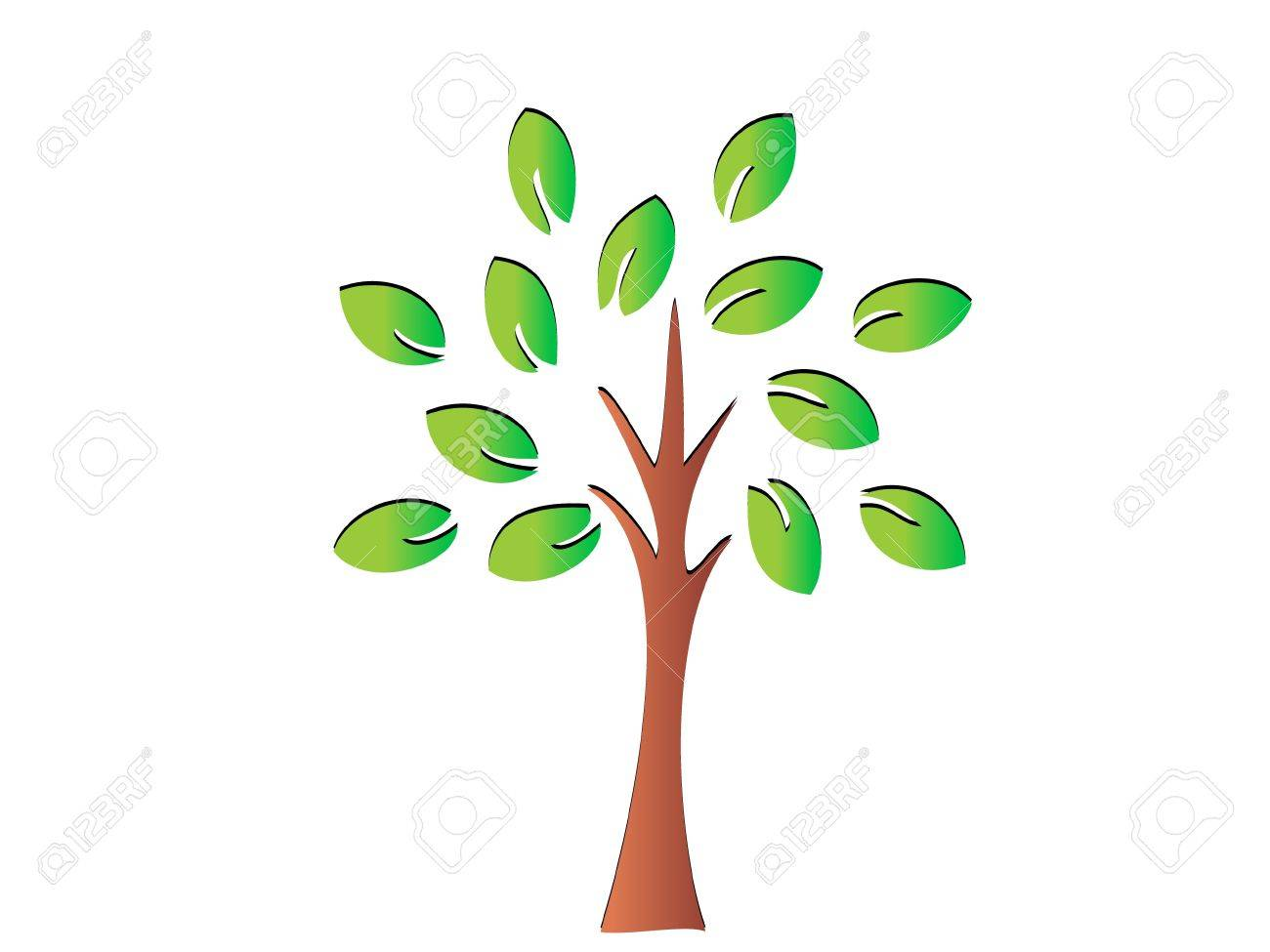 Tree Stock Vector - 10403076