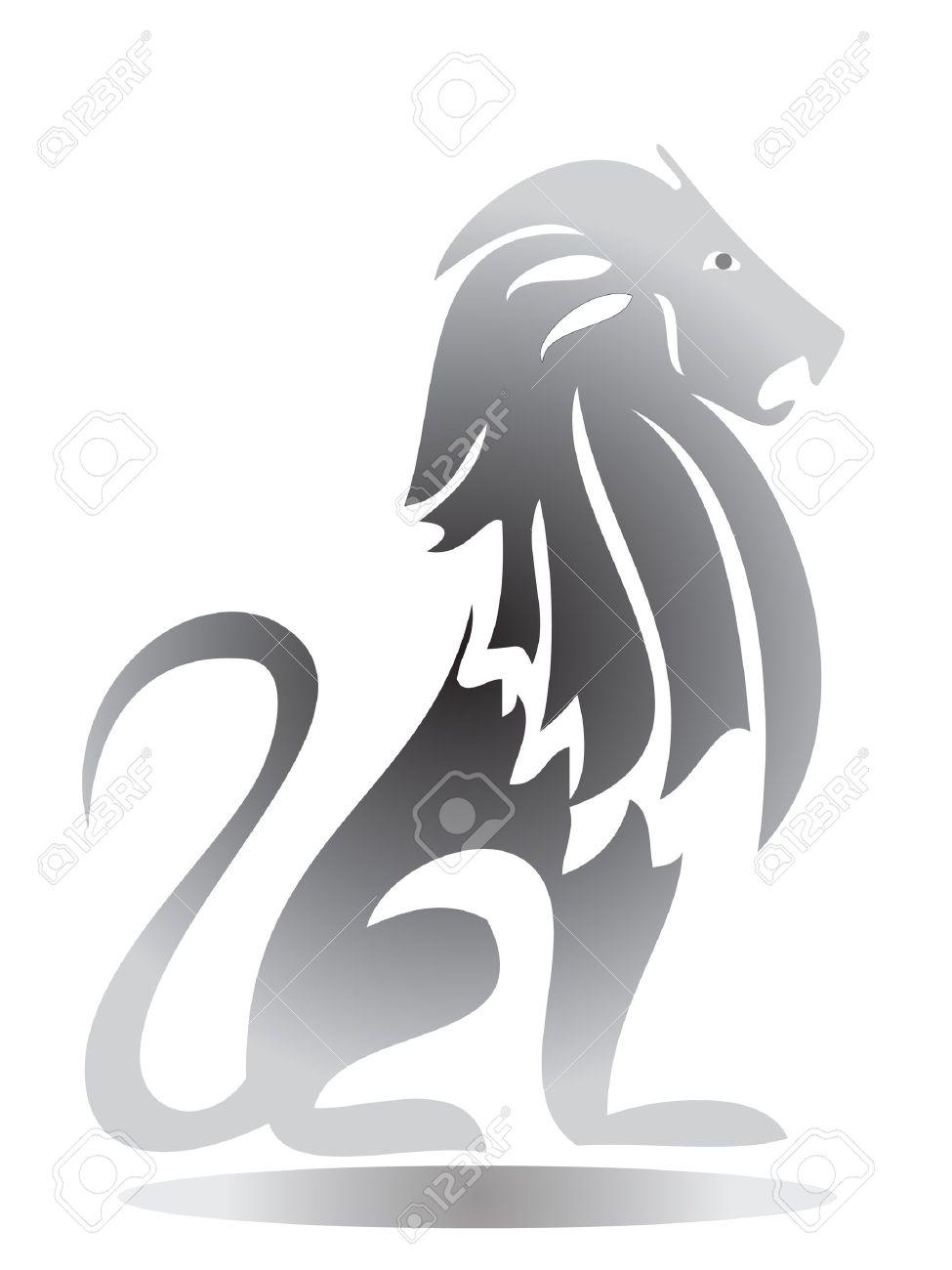 Lion Silhouette Stock Vector - 10599266