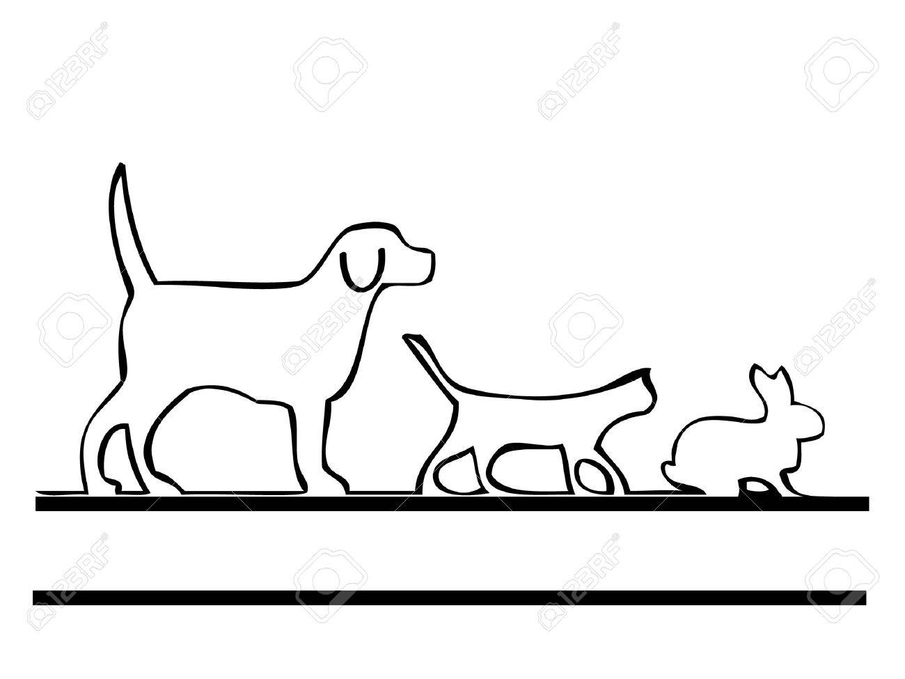 26 362 dog and cat cliparts stock vector and royalty free dog and