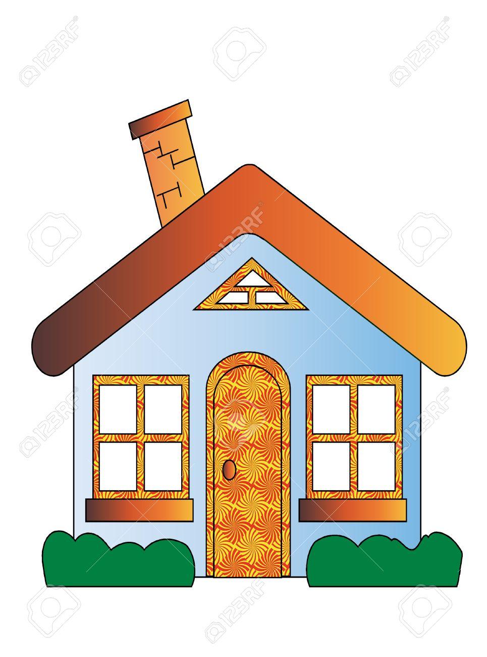 House Cartoon Royalty Free Cliparts, Vectors, And Stock ...