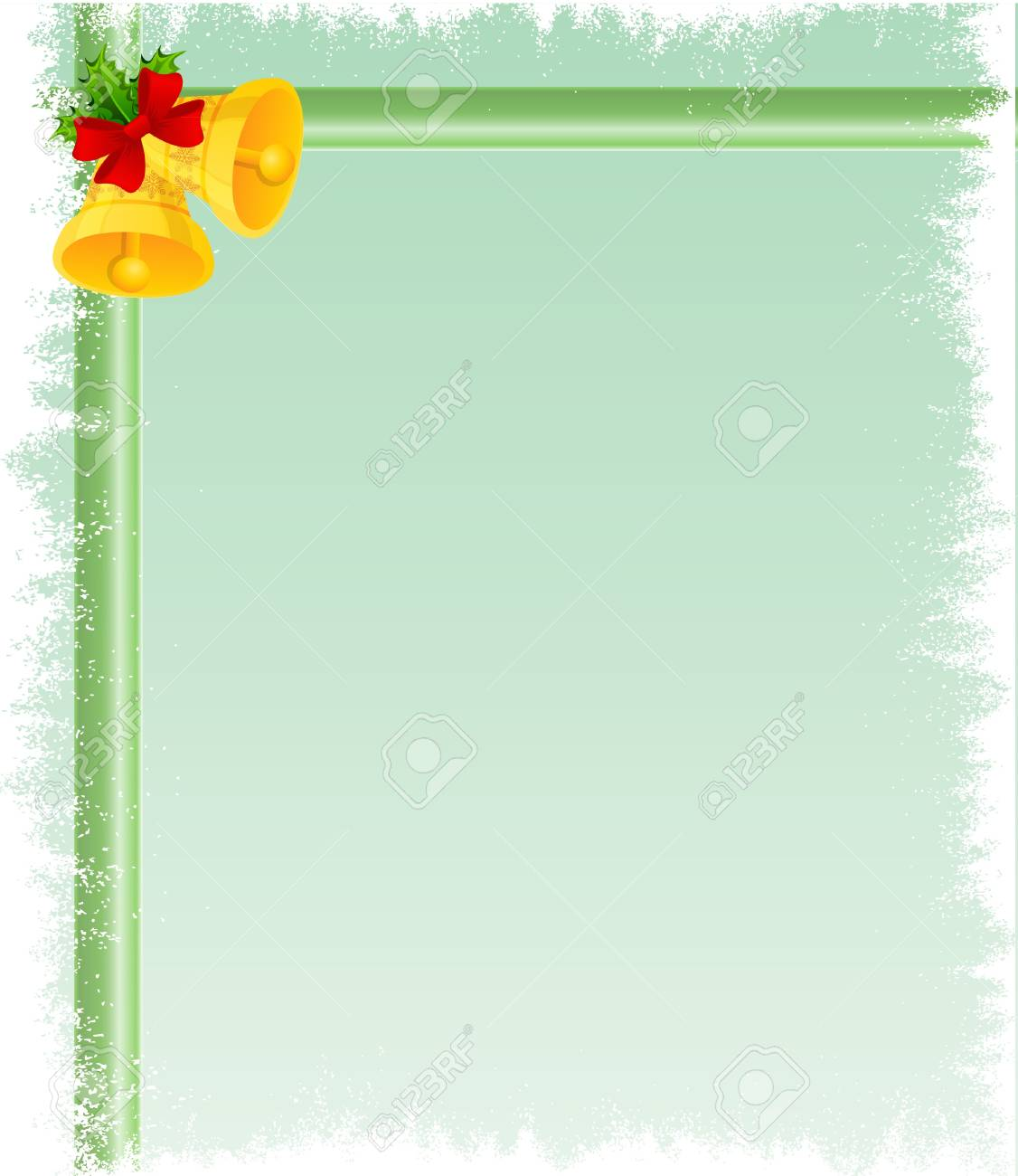 Christmas bell card Stock Vector - 11295399